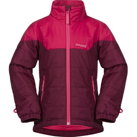 Bergans Ruffen Light Insulated Jacket Barn jam/dark sorbet/sorbet
